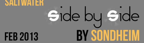"Sondheim's ""Side by Side"" coming to Victoria in February 2013"